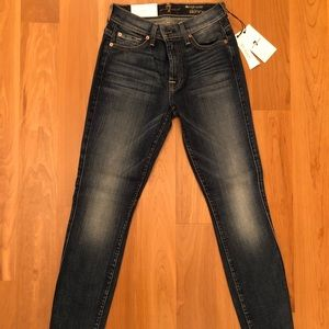 FOR ALL MANKIND SLIM ILLUSION JEANS *New with tags